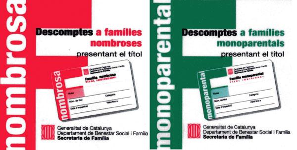 Trámites nacimiento Barcelona - Información título familia numerosa / Monoparental