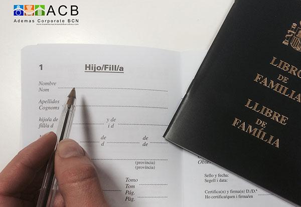 Trámites nacimiento Barcelona - inscripción registro Civil