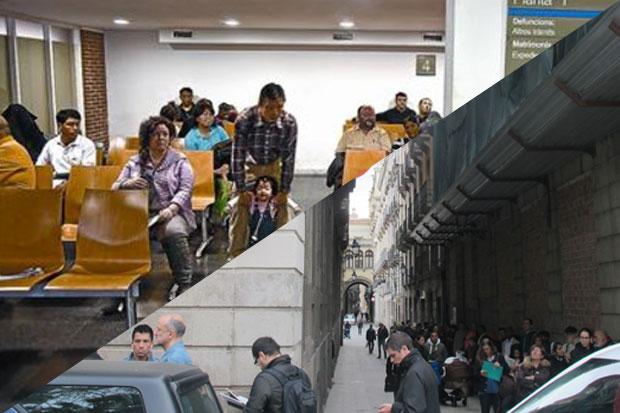 Trámites nacimiento Barcelona - Registro Civil - Tiempo espera